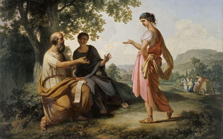 Socrates en het socratisch gesprek